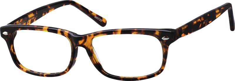 UnisexFull RimAcetate/PlasticEyeglasses #665130