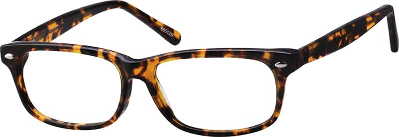 Flattering Rectangular Eyeglasses