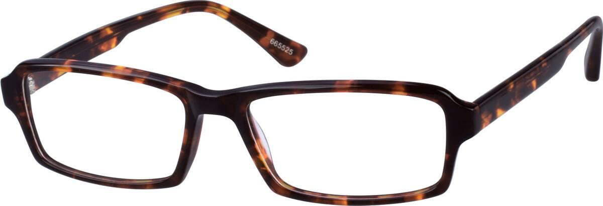 UnisexFull RimAcetate/PlasticEyeglasses #665521