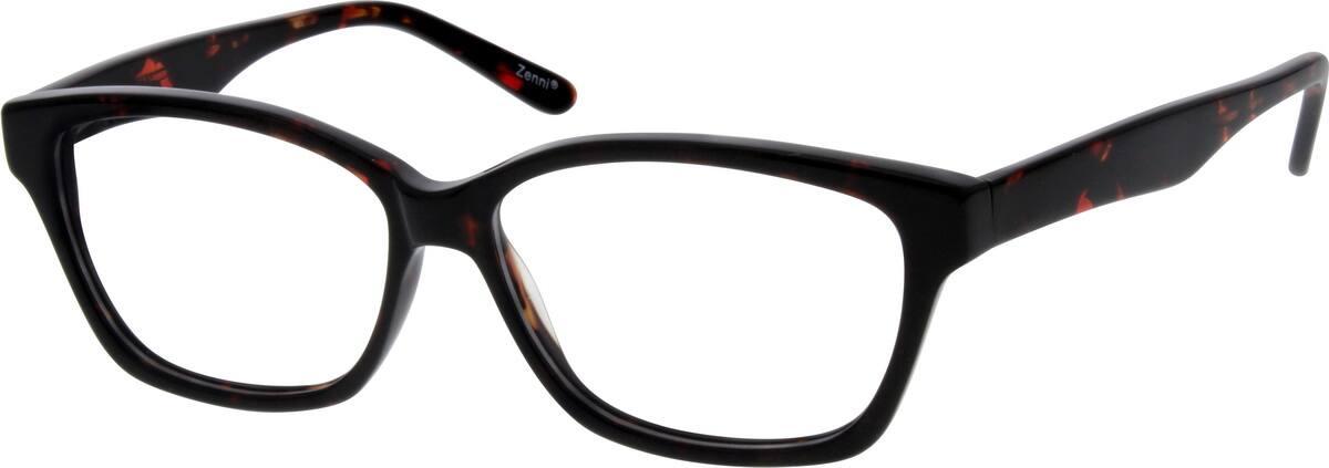 WomenFull RimAcetate/PlasticEyeglasses #665727