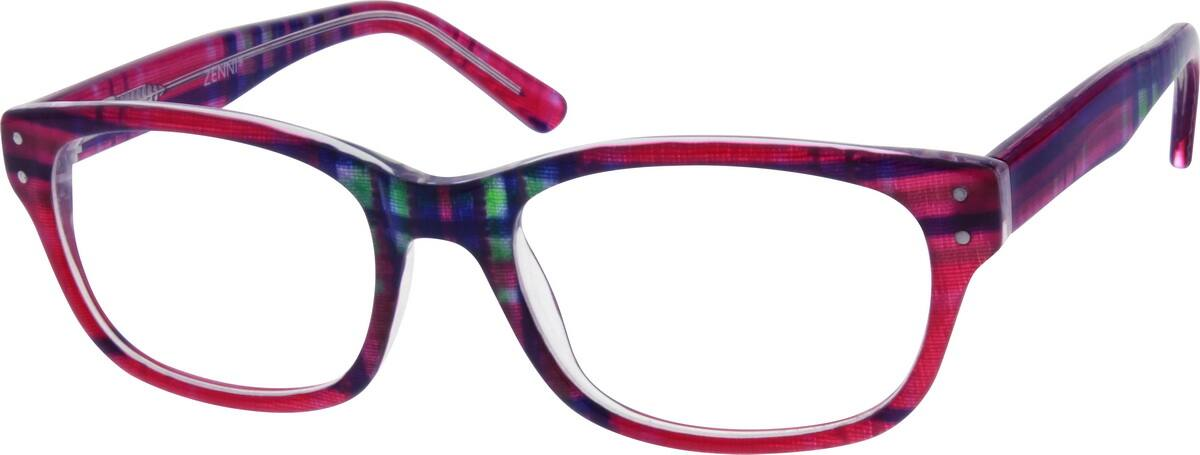 Women Full Rim Acetate/Plastic Eyeglasses #665826