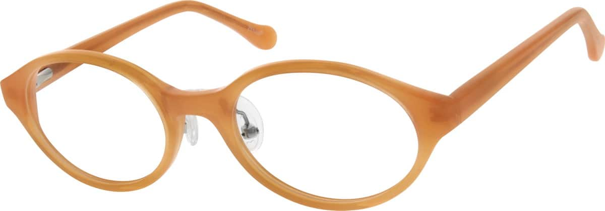Girl Full Rim Acetate/Plastic Eyeglasses #666117