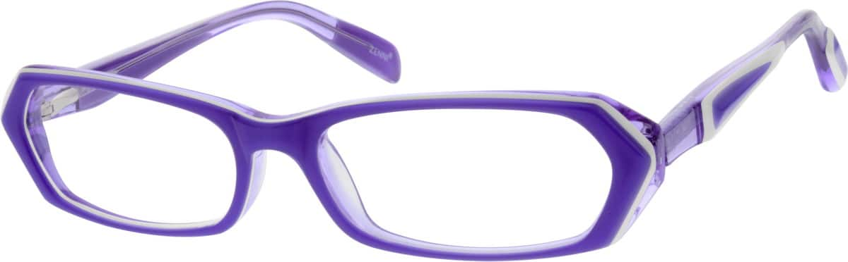 Girl Full Rim Acetate/Plastic Eyeglasses #666230