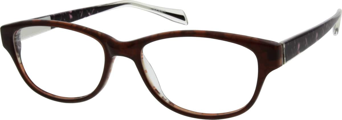 WomenFull RimAcetate/PlasticEyeglasses #666615