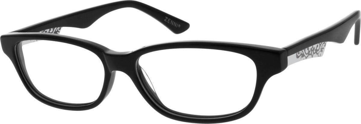 UnisexFull RimAcetate/PlasticEyeglasses #666730
