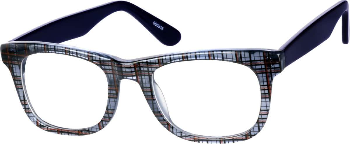 UnisexFull RimAcetate/PlasticEyeglasses #666916