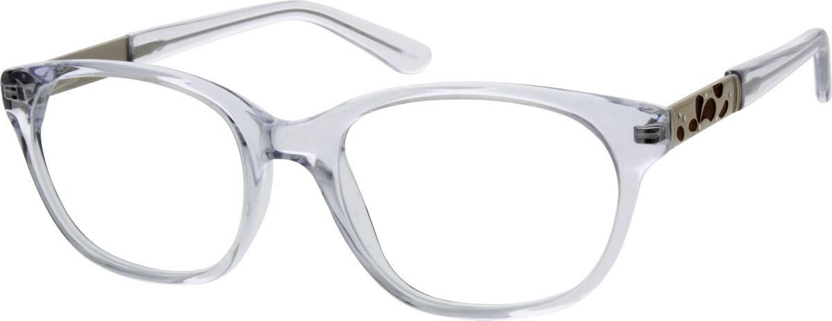 WomenFull RimAcetate/PlasticEyeglasses #667021