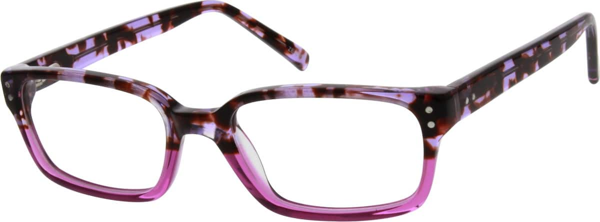 Girl Full Rim Acetate/Plastic Eyeglasses #667326