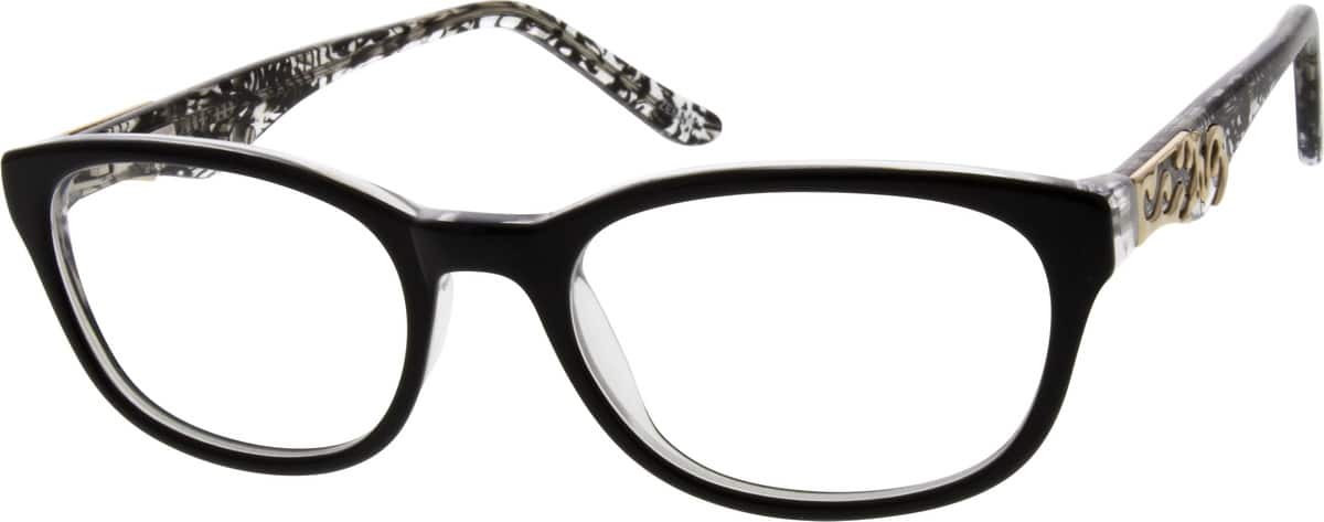 Women Full Rim Acetate/Plastic Eyeglasses #667421
