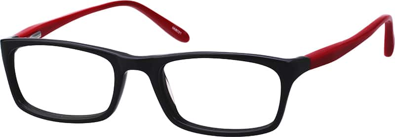 Kids Full Rim Acetate/Plastic Eyeglasses #668023