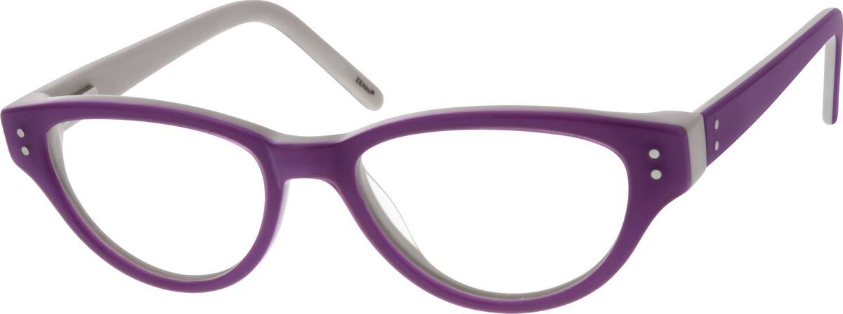 GirlFull RimAcetate/PlasticEyeglasses #668117