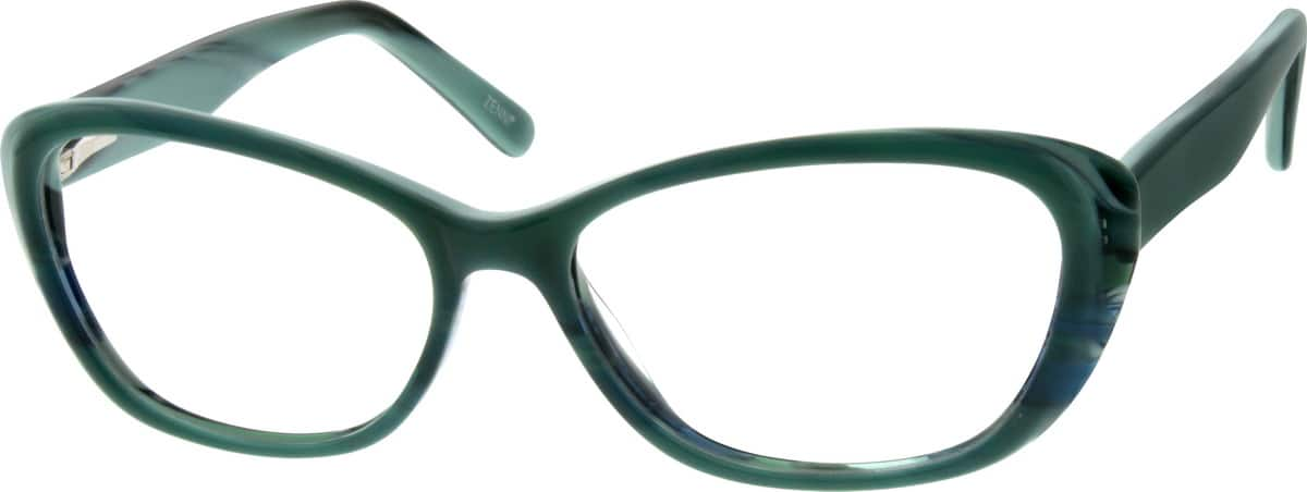 Girl Full Rim Acetate/Plastic Eyeglasses #668218