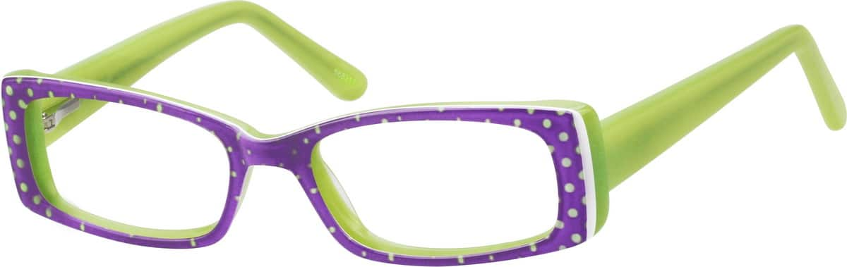 Girl Full Rim Acetate/Plastic Eyeglasses #668317