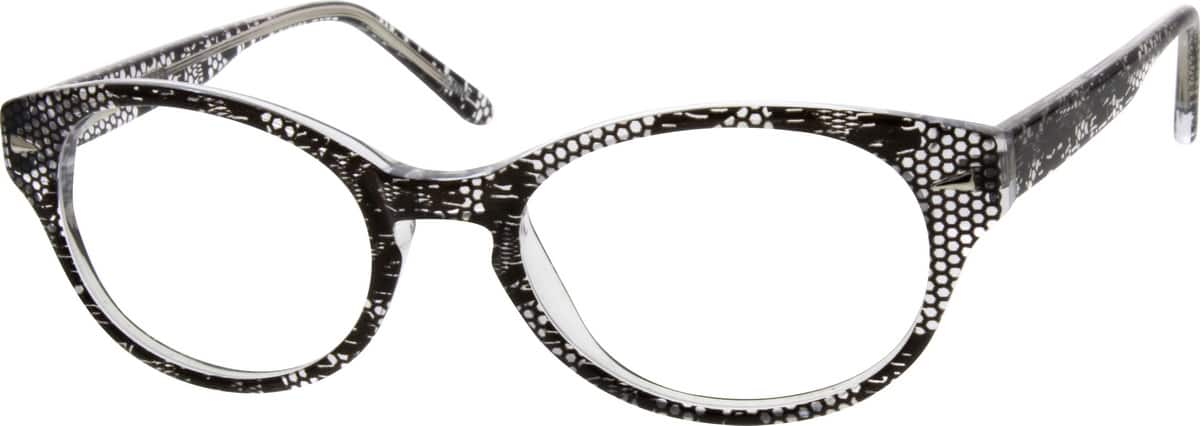 Girl Full Rim Acetate/Plastic Eyeglasses #668431