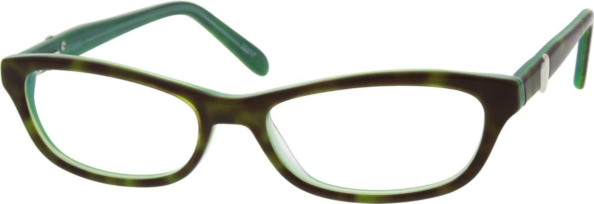 Girl Full Rim Acetate/Plastic Eyeglasses #668726