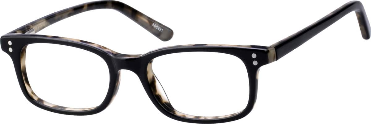 Toddlers' Flexible Rectangular Eyeglasses