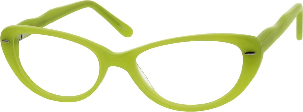 Girl Full Rim Acetate/Plastic Eyeglasses #669024