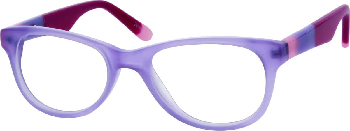 Girl Full Rim Acetate/Plastic Eyeglasses #669217