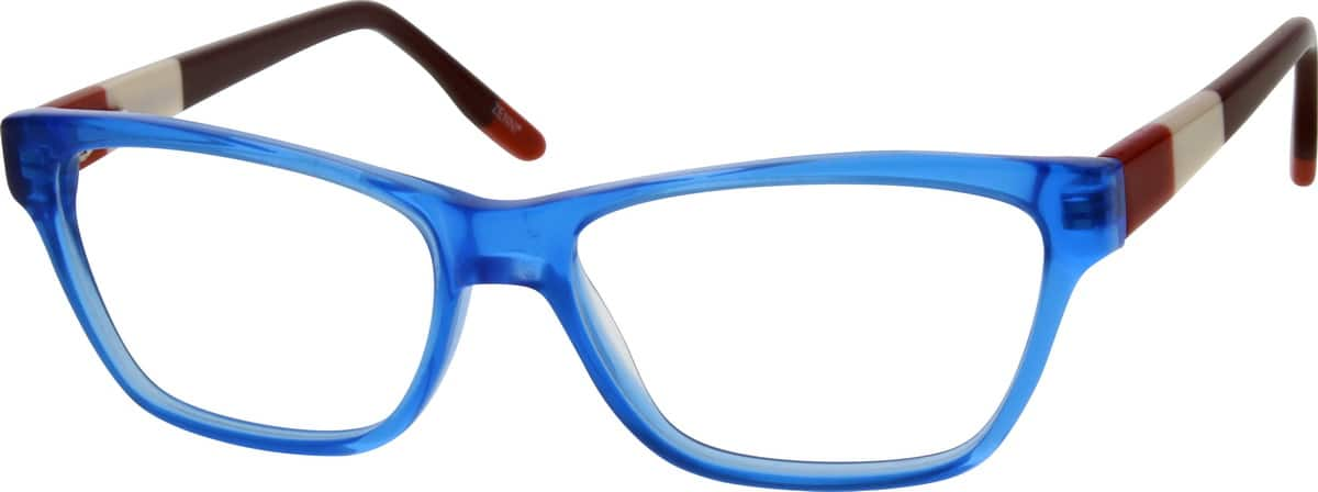 Girl Full Rim Acetate/Plastic Eyeglasses #669319
