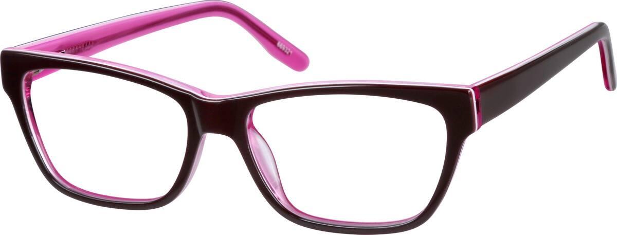 GirlFull RimAcetate/PlasticEyeglasses #669319