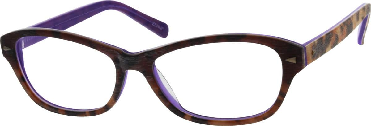 Women Full Rim Acetate/Plastic Eyeglasses #669835