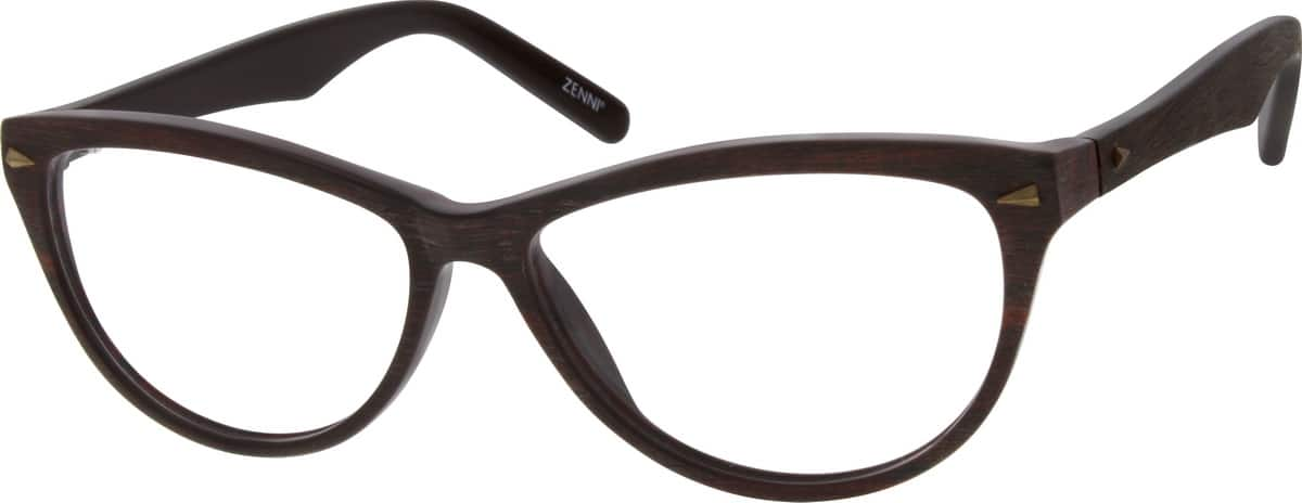 Women Full Rim Acetate/Plastic Eyeglasses #669935
