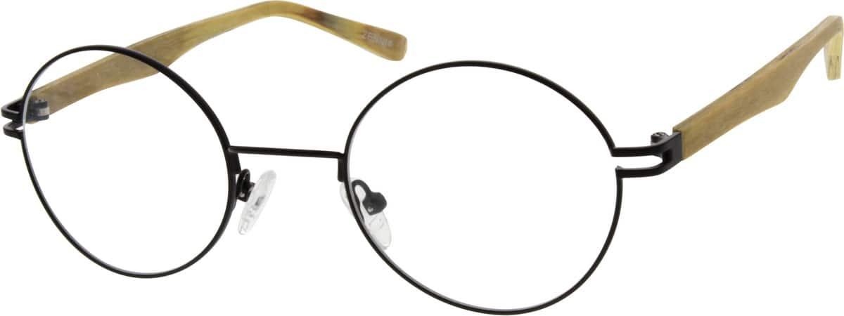 UnisexFull RimMixed MaterialsEyeglasses #670030