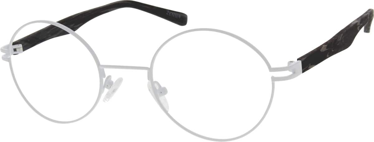 UnisexFull RimMixed MaterialsEyeglasses #670021