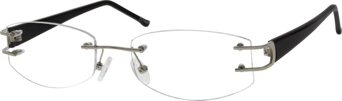 MenRimlessMixed MaterialsEyeglasses #670512