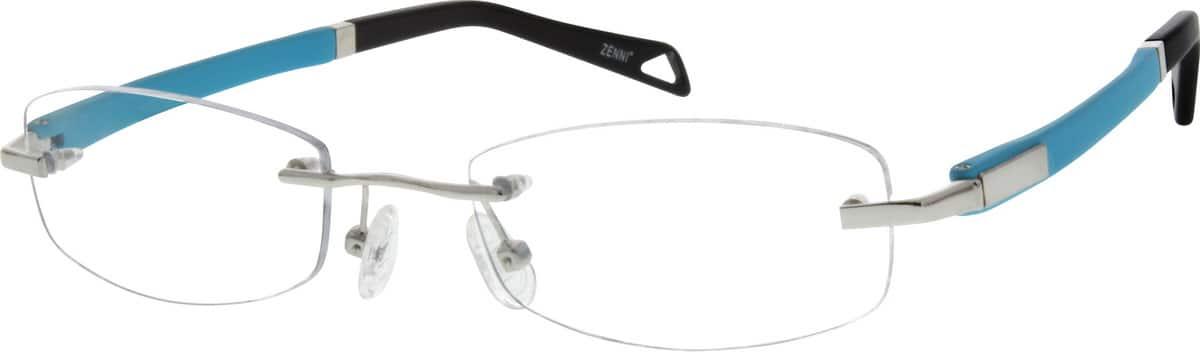UnisexRimlessMixed MaterialsEyeglasses #670811