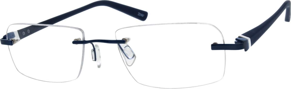 MenRimlessMixed MaterialsEyeglasses #670921
