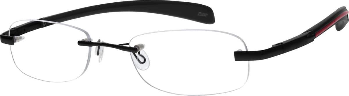 WomenRimlessMixed MaterialsEyeglasses #671017