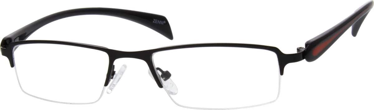 MenHalf RimMixed MaterialsEyeglasses #671421