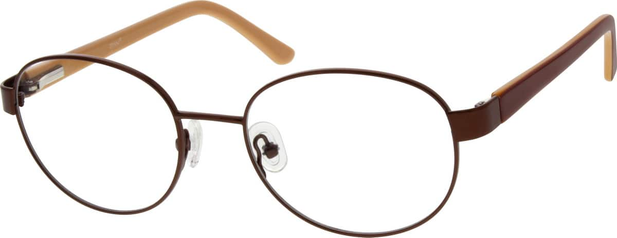 Women Full Rim Mixed Materials Eyeglasses #671515