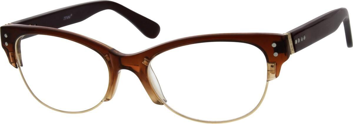 UnisexFull RimMixed MaterialsEyeglasses #671615