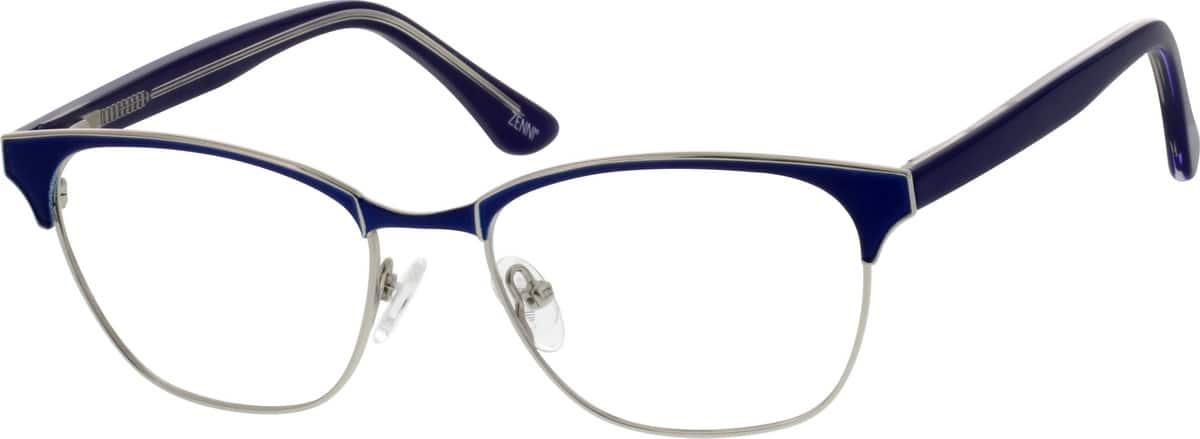 WomenFull RimMixed MaterialsEyeglasses #671818