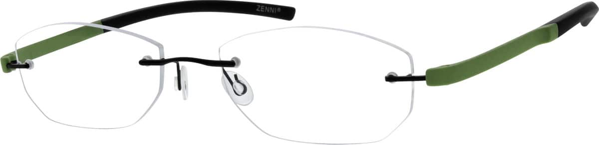 Rimless Metal Alloy Frame