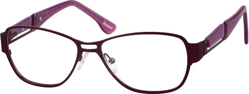womens-full-rim-mixed-materials-rectangle-eyeglass-frames-672418