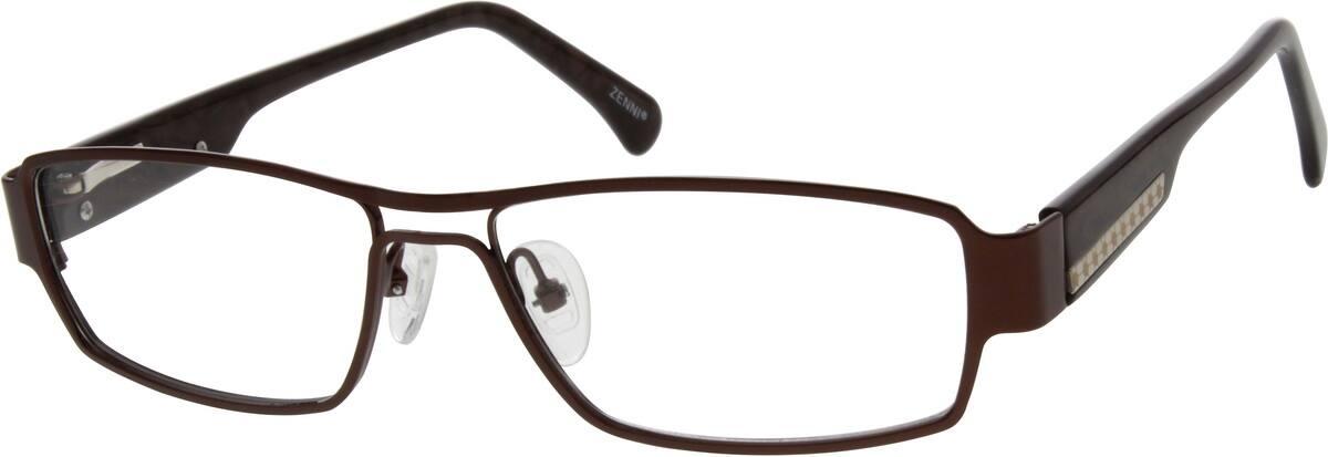 MenFull RimMixed MaterialsEyeglasses #672521