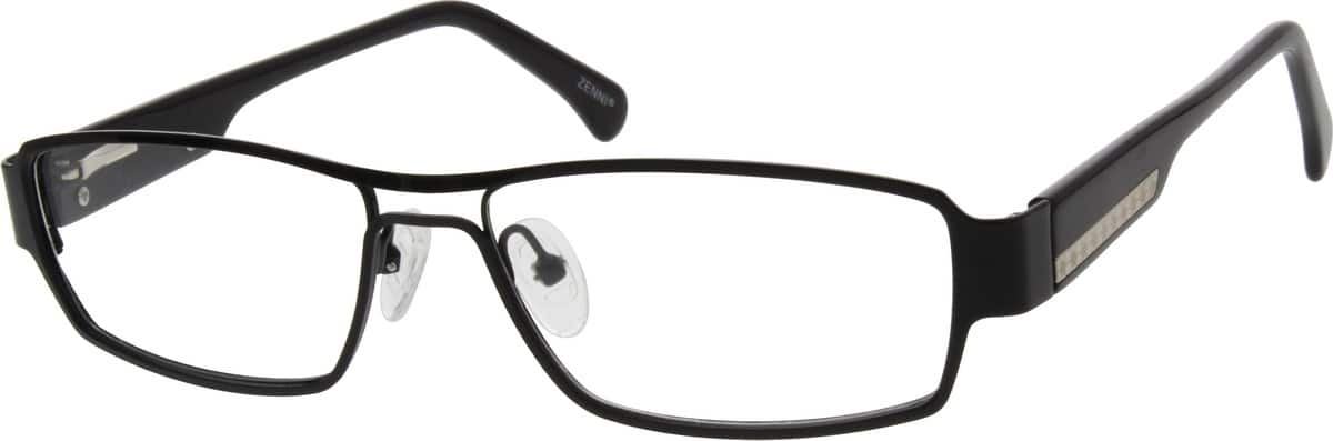 Men Full Rim Mixed Materials Eyeglasses #672521