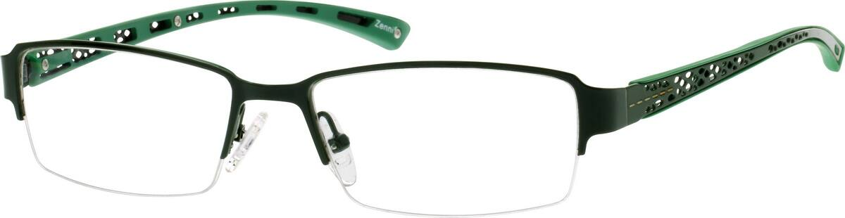 WomenHalf RimMixed MaterialsEyeglasses #672812