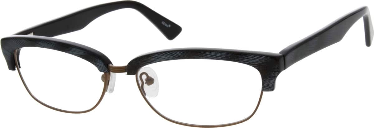 UnisexFull RimMixed MaterialsEyeglasses #674018