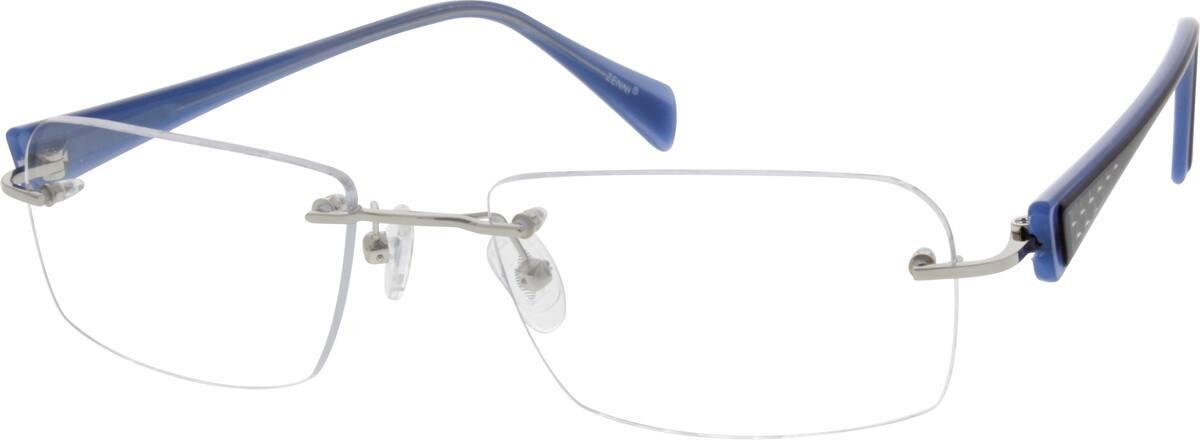 UnisexRimlessMixed MaterialsEyeglasses #674214