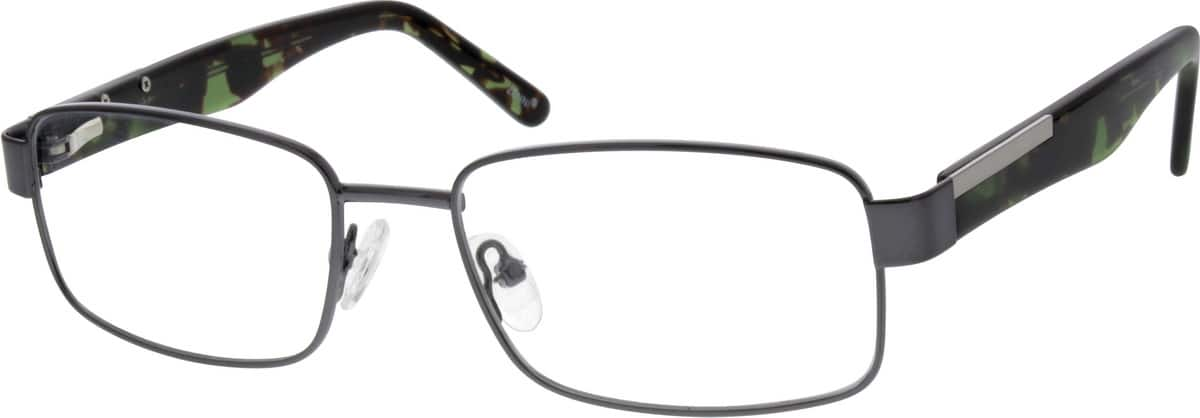 Men Full Rim Mixed Materials Eyeglasses #674512
