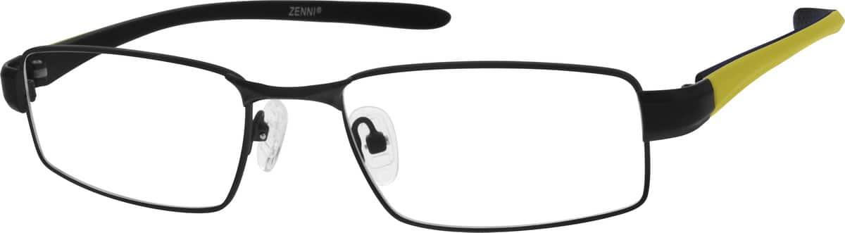 MenFull RimMixed MaterialsEyeglasses #675521