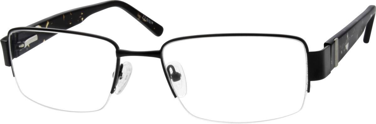 MenHalf RimMixed MaterialsEyeglasses #676315