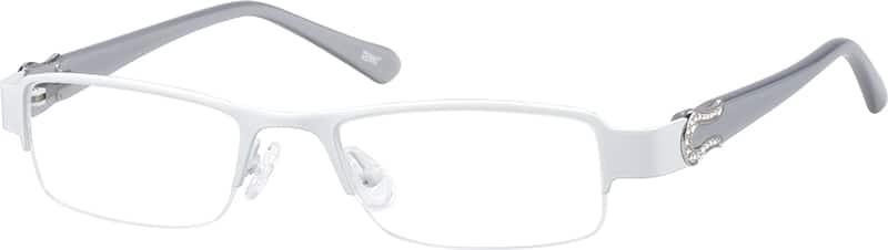 womens-half-rim-eyeglass-frame-with-acetate-temples-676730