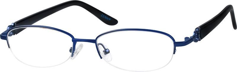 WomenHalf RimMixed MaterialsEyeglasses #677430