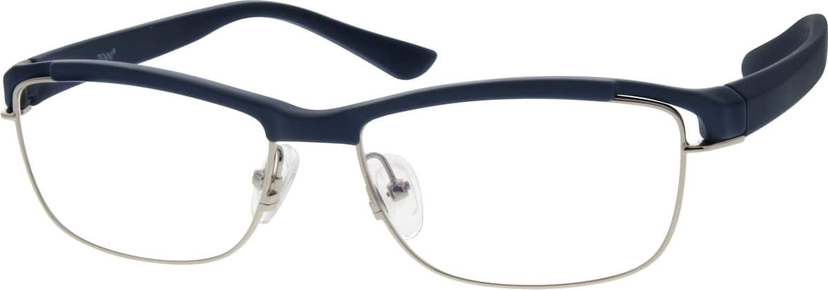 UnisexFull RimMixed MaterialsEyeglasses #677821