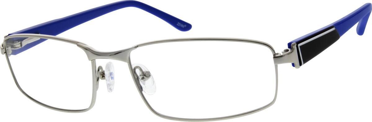 MenFull RimMixed MaterialsEyeglasses #677921